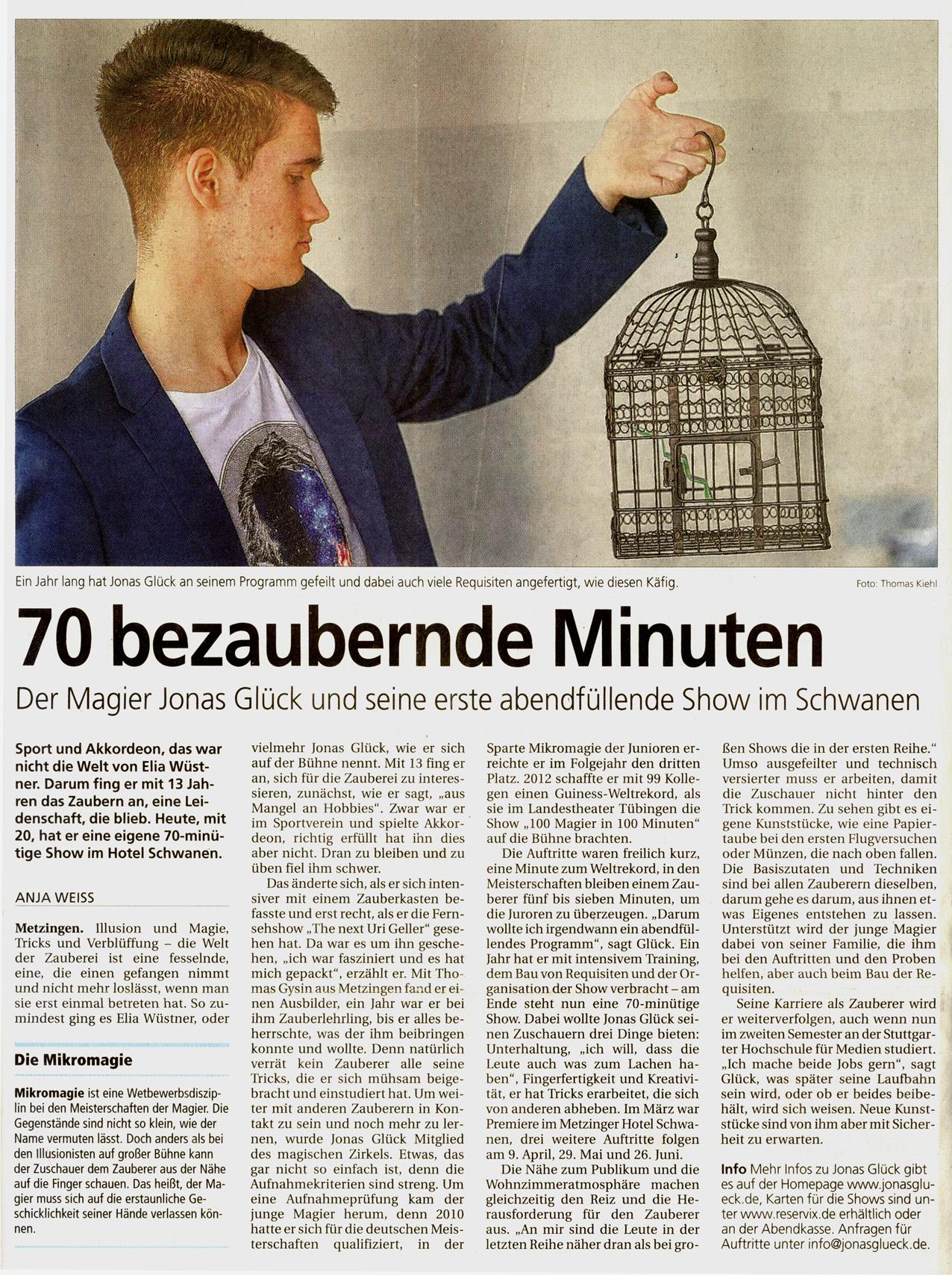 MetzingerVolksblatt
